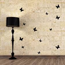 3d butterfly wall stickers diy pvc removable wall sticker art