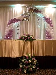 wedding backdrop ideas with columns balloon wedding ideas balloons party decorations