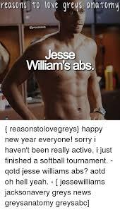 Jesse Williams Memes - reasons to love greys anatomy jesse williams abs reasonstolovegreys