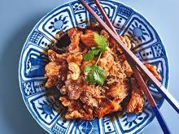 chinois à la cuisine porc au caramel à la chinoise facile et pas cher recette sur