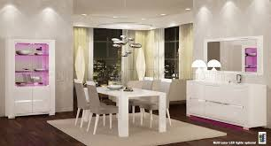 elegance diamond white dining table by at home usa w options