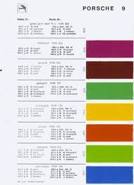 auto paint codes help translate from german paint code for