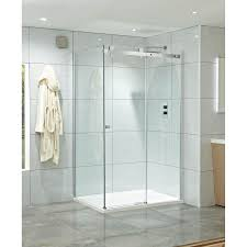 Frameless Shower Doors Phoenix by Phoenix Frameless Single Slider Shower Door 1400mm Se086np