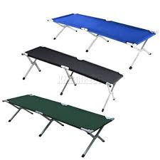 Folding Camp Bed Amazing Of Folding Camping Bed With New Heavy Duty Super Light