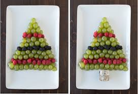 christmas tree fruit platter the first year