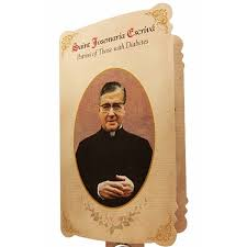 prayer card medal and prayer card of st josemaria escriva patron of