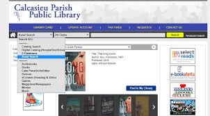 yearbook website yearbook digitization project calcasieu parish library