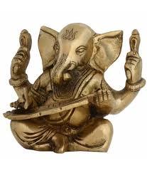 Buy Indian Home Decor Shalinindia Lord Ganesha Statue Hindu Ornament Brass Sculpture