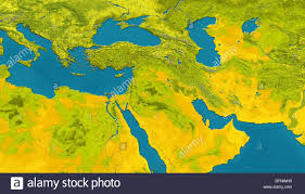 Arabian Peninsula Map Satellite Image Of The Arabian Peninsula And Northeast Africa