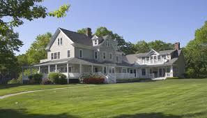 maine home design magazine features landvest listing in york