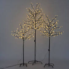 Outdoor Lighted Trees Indoor Lighted Trees Ebay