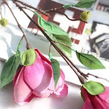 popular fake magnolia bouquet buy cheap fake magnolia bouquet lots