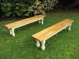 Shabby Chic Bench Rustic Benches Rustic Simple Wooden Corner Bench Seating For