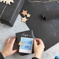 chalk wrapping paper chalkboard gift wrap by newton and the apple notonthehighstreet