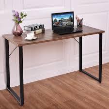 Computer Desk Hard Wood Simplistic Durable Wood Writing Computer Desk Desks Office
