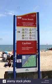 Dorset England Map by Rnli Lifeguard Sign With Map On Beach Avon Beach Mudeford Dorset