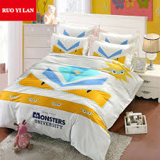 Customized Duvet Covers Aliexpress Com Buy Monsters 3d Large Printing Duvet Cover Set