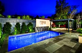 Backyard Pool Landscaping Pictures by Brilliant Rectangular Pools Landscaping Ideas Area Design