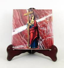 catholic gifts and more st helena of the cross catholic tile now on etsy https