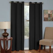 Eclipse Blackout Curtains Eclipse 10708042x063bk Microfiber 42 Inch By 63 Inch