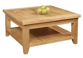 Wooden Living Room Table Coffee Table Square