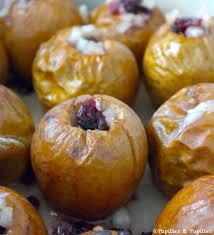 cuisiner des airelles pommes au four aux échalotes et aux airelles