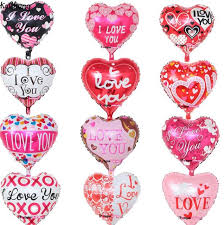 Valentine S Day Wedding Supplies by Aliexpress Com Buy 50pcs Lot 18inch Love Shape Foil Balloons