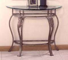 Accent Console Table Best Half Moon Accent Table Regency Halfmoon Console Table