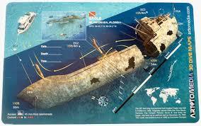 florida shipwrecks map eagle islamorada florida to media dive site map prone