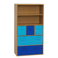 4d concepts white storage kids bookcase 12455 the home depot