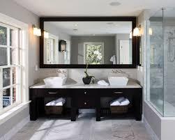 Mirrors Over Double Sink Houzz - Bathroom sink mirror