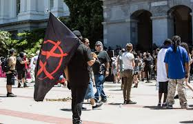 Sacramento City Flag Berkeley Teacher Yvette Felarca Arrested On Charges Of Inciting A