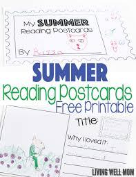free printable summer reading log for kids