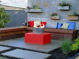 backyard fire pit design ideas with corner wood chairs furniture