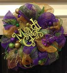 mardi gras deco mesh mardi gras wreath mardi gras deco mesh wreath purple by thewreaths