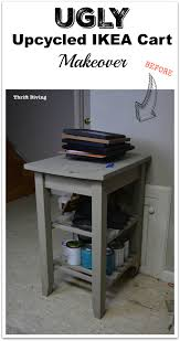 Ikea Cart by How To Repurpose A Kitchen Cart And Get Organized