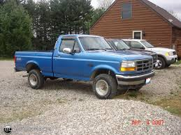 truck ford blue 1994 ford f 150 id 5164