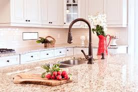 giallo ornamental granite countertop kitchen traditional with