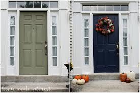 Exterior Door Paint Exterior Door Paint A Simple Fall House Update How To Paint An