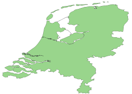 The Netherlands Map Map Polygons For The Netherlands We Build Internet
