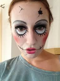 crazy doll makeup tutorial youtube
