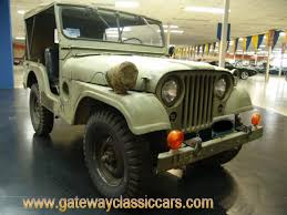 wwii jeep for sale 1955 willys jeep gateway classic cars 4480
