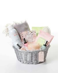 filled easter baskets boys 10 lavish easter basket ideas for a spa day at home martha stewart