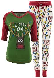 lazy one lights out pajamas for