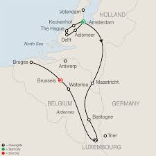 Brussels Germany Map Map Of Thalys Routes In France Belgium And The Netherlands