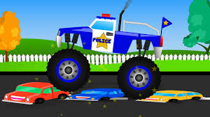 Monster Truck Stunt Monster Truck Videos For Kids Monster