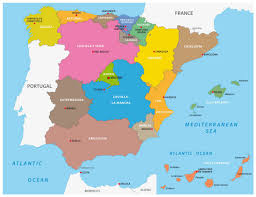Pais Vasco Map Map Of Spain Guide Of The World