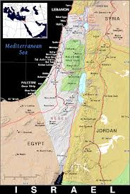 Map Israel Il Israel Public Domain Maps By Pat The Free Open Source