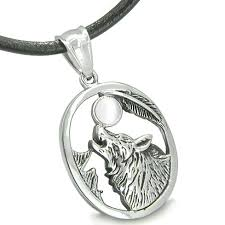 wolf necklace pendant images Wolf necklaces pendants charms amulet courage howling wolf and jpg