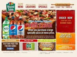 round table pizza menu coupons round table pizza prunedale ca 93907 dine in pizza delivery and